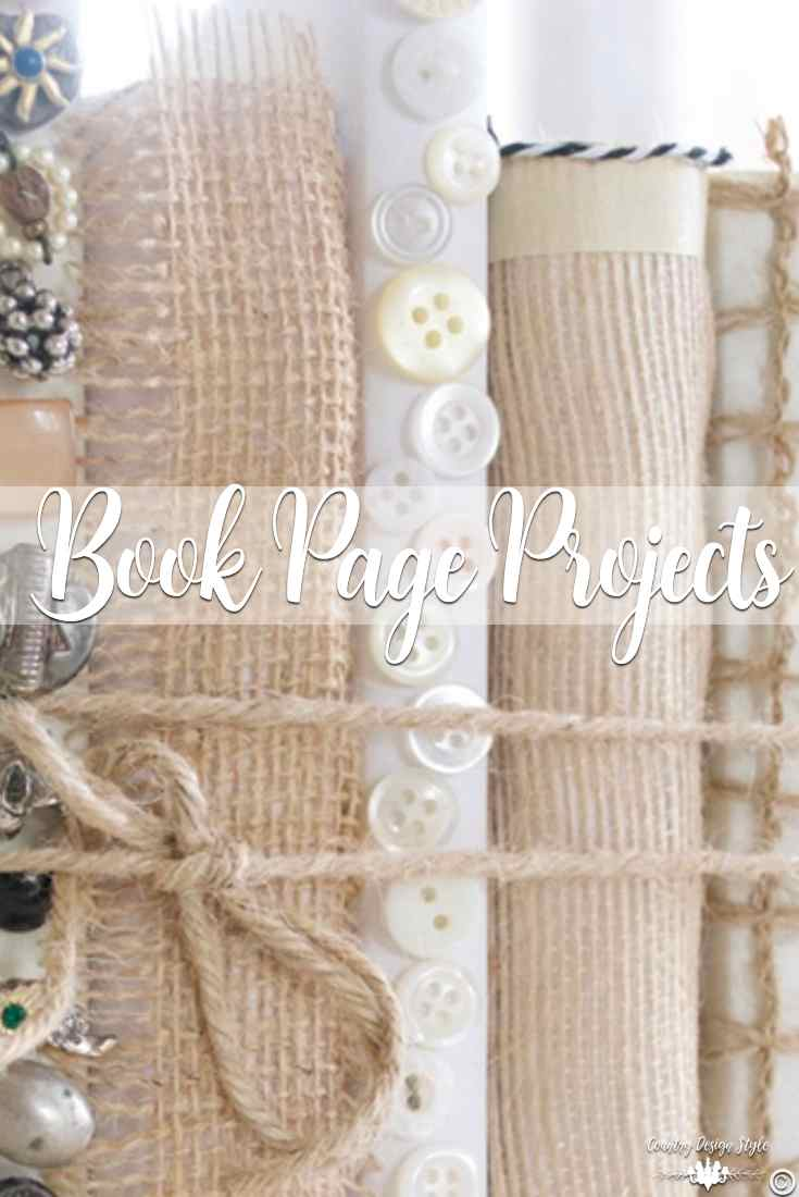 Book Page Projects | Country Design Style | countrydesignstyle.com