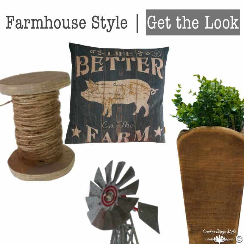 Farmhouse Style Get the Look sq | Country Design Style | countrydesignstyle.com