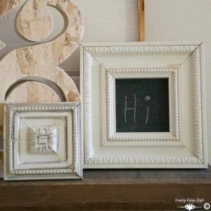 Framed Chalkboard sq | Country Design Style | countrydesignstyle.com