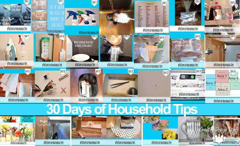 Household tips main | Country Design Style | countrydesignstyle.com