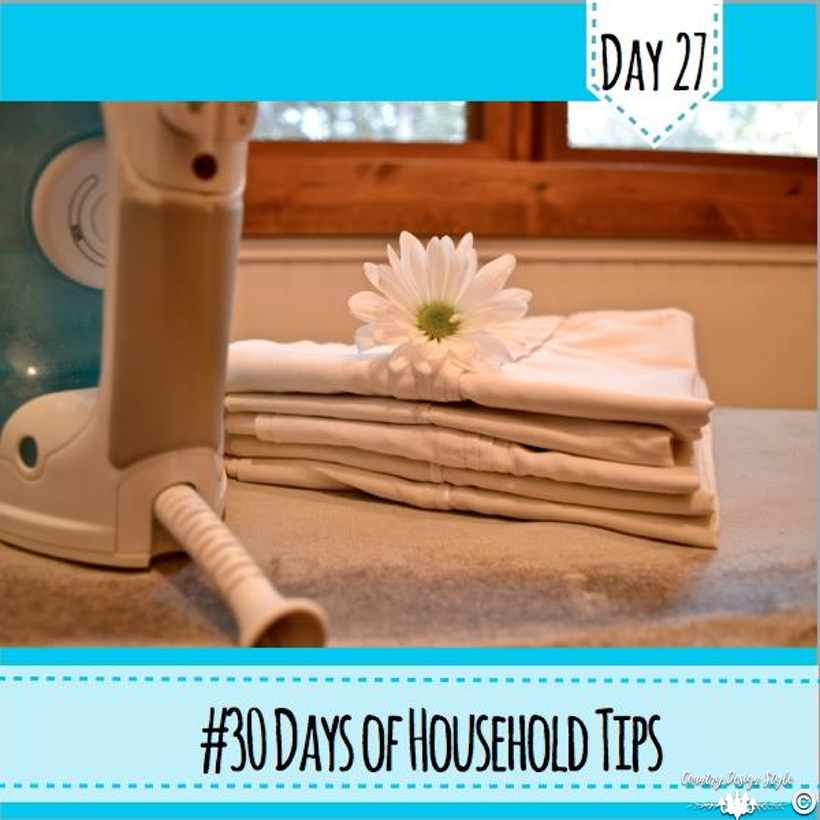 Ironed Pillowcases | Country Design Style | countrydesignstyle.com