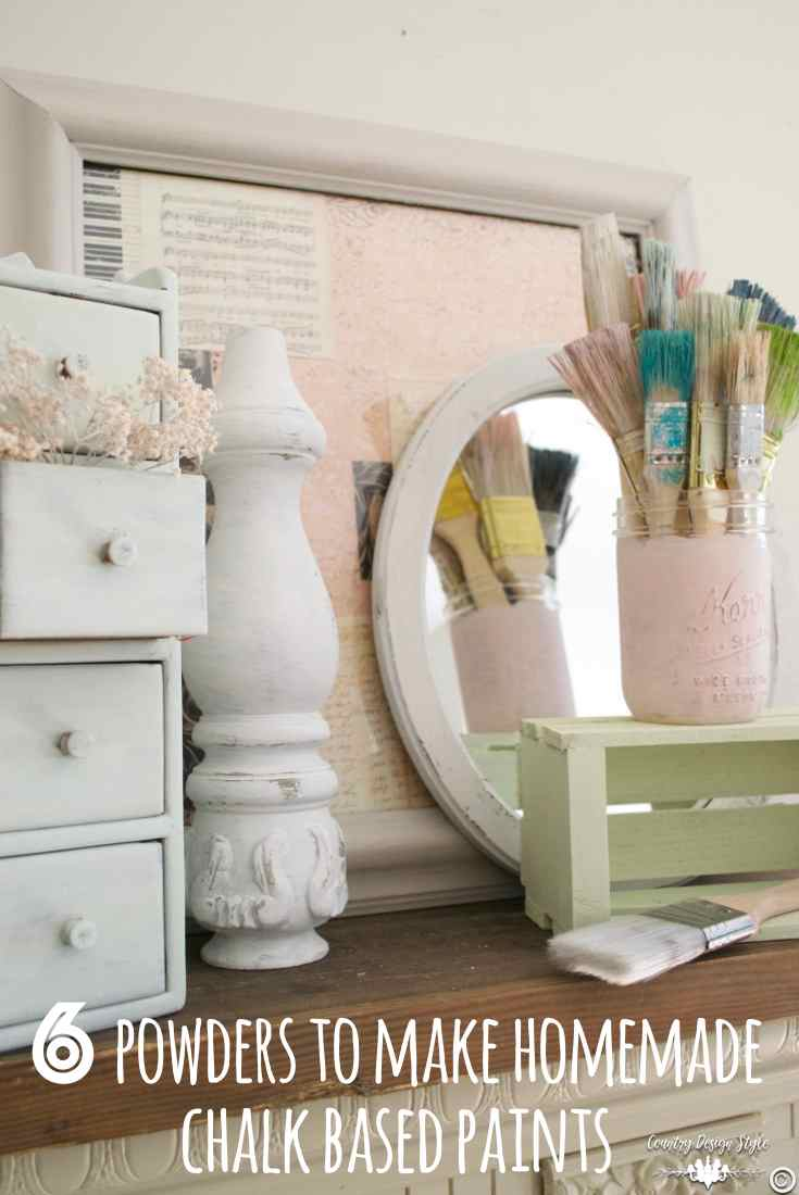 Chalk powders for paint pin 3 | Country Design Style | countrydesignstyle.com