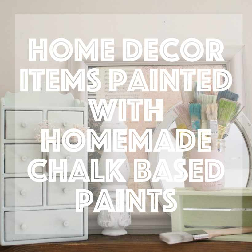 Chalk powders for paint sq | Country Design Style | countrydesignstyle.com
