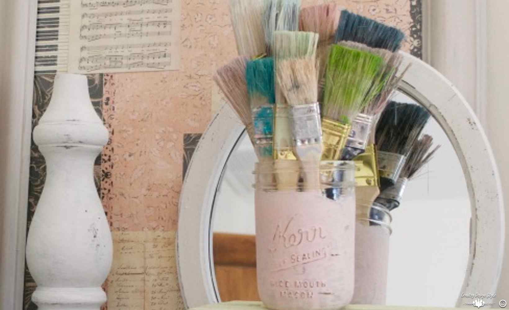Cheap Paint Brushes Bouquet main | Country Design Style | countrydesignstyle.com
