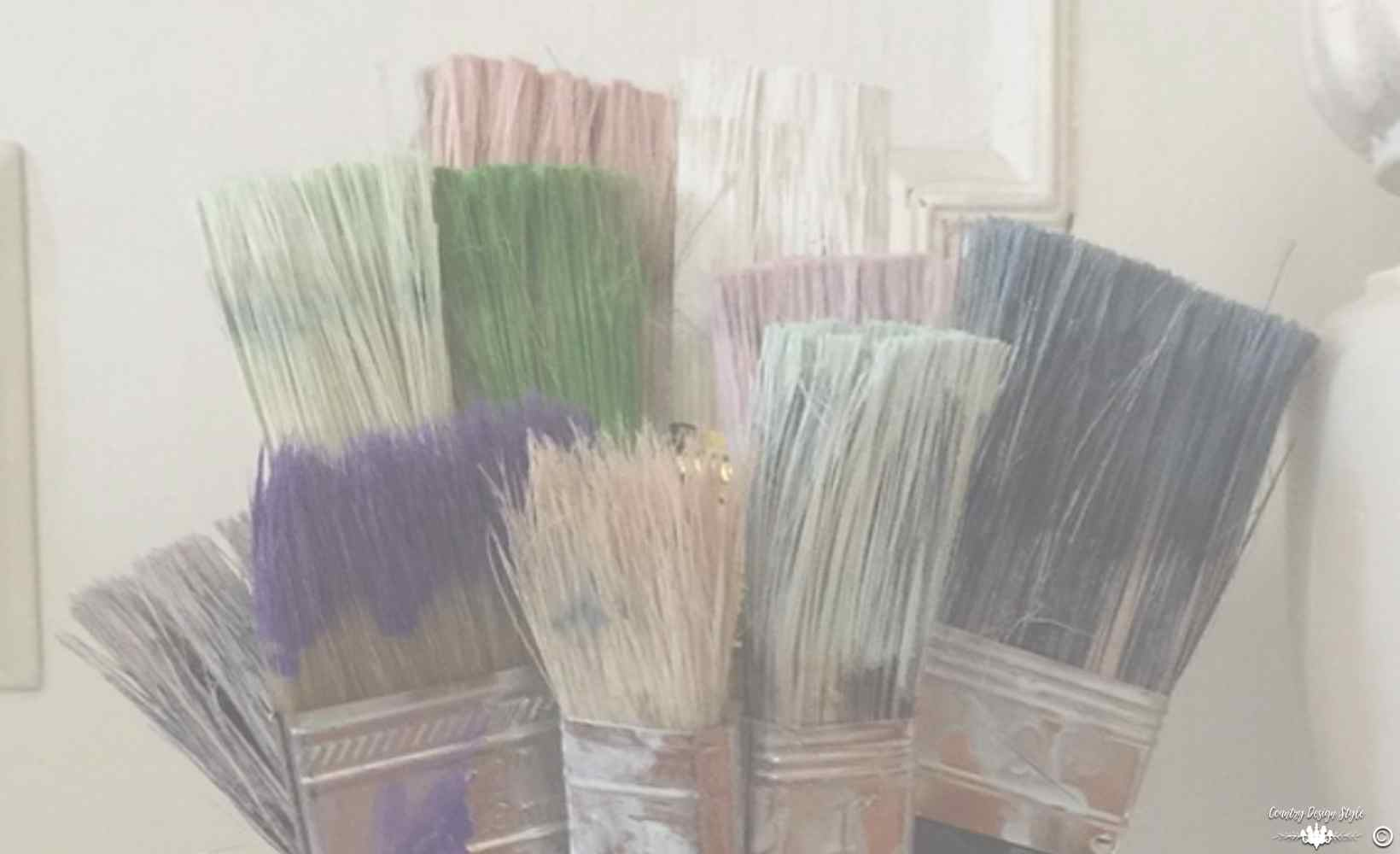 Cheap Paint Brushes Bouquet main soft | Country Design Style | countrydesignstyle.com