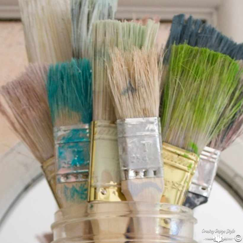 Cheap Paint Brushes | Country Design Style | countrydesignstyle.com