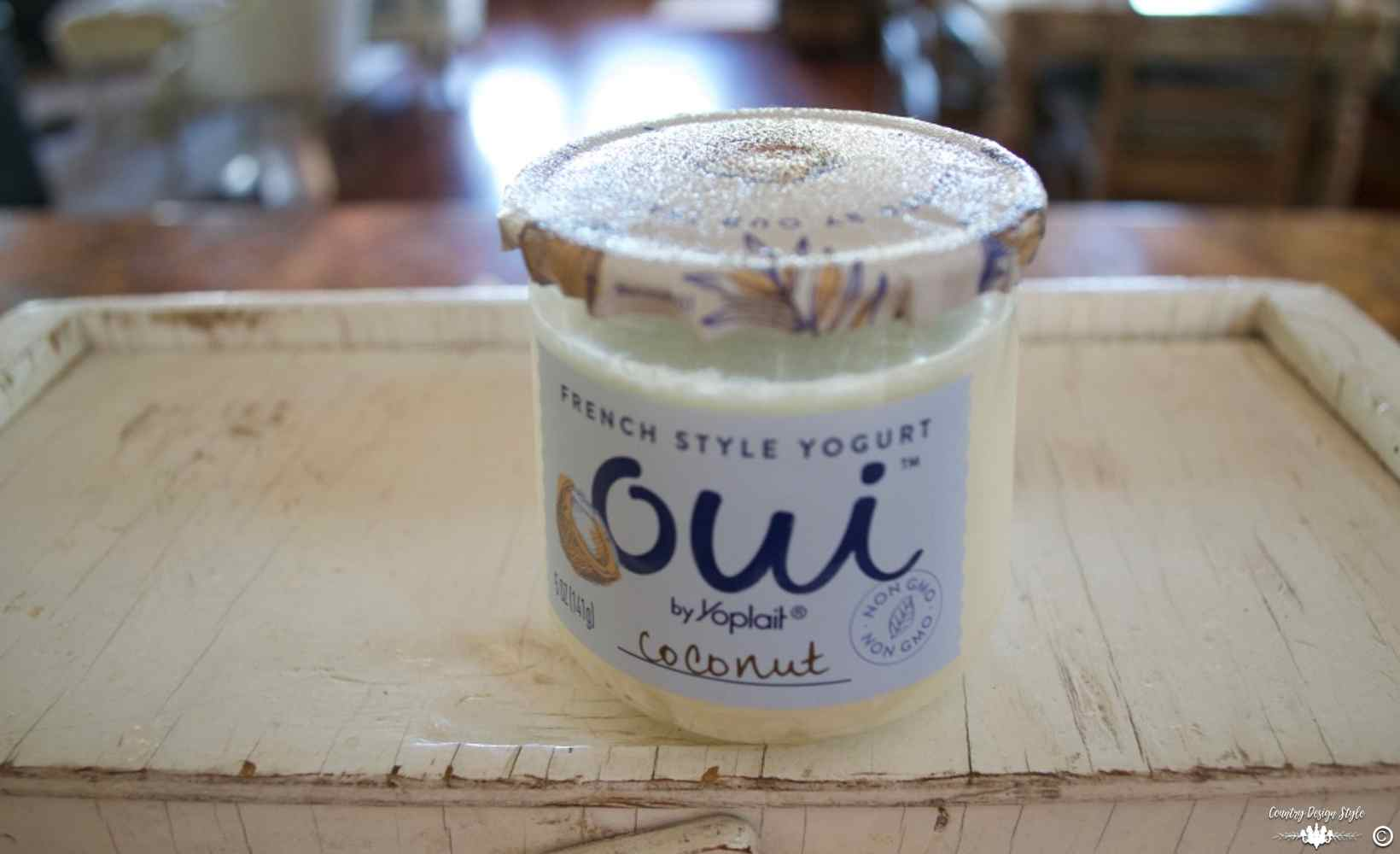 Craft Containers Organizing small items yogurt | Country Design Style | countrydesignstyle.com