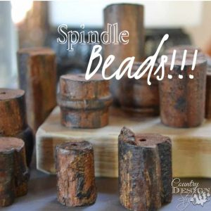Spindle beads | Country Design Style | countrydesignstyle.com