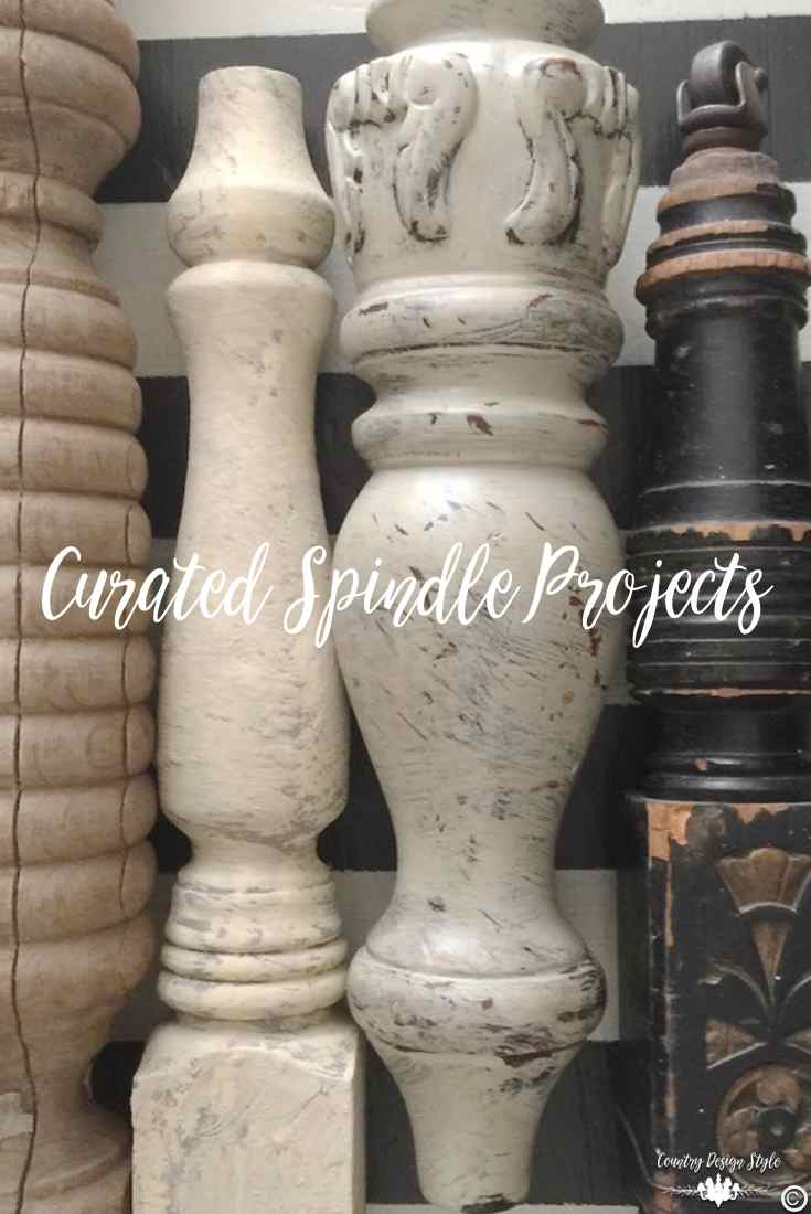 Spindle collection pin | Country Design Style | countrydesignstyle.com