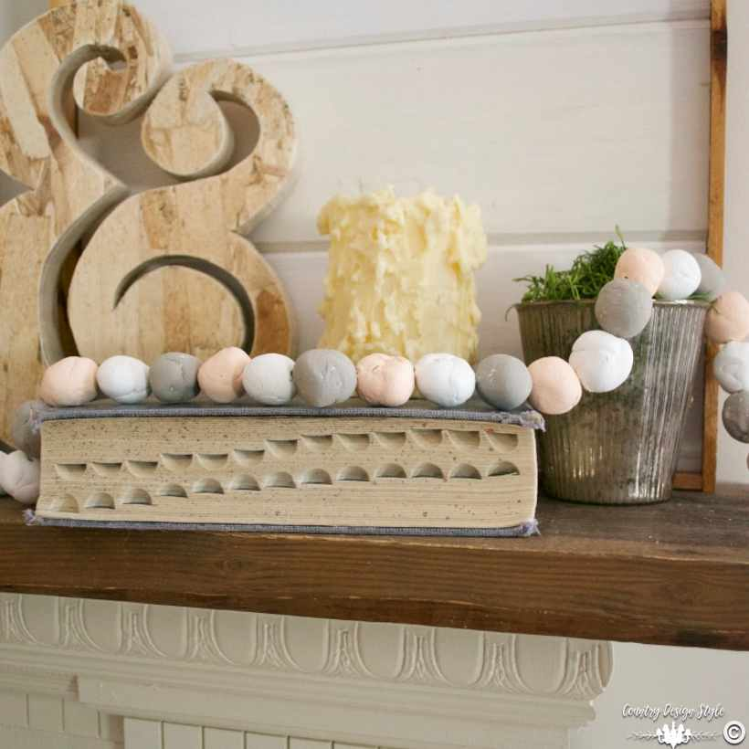 Beaded garland sq | Country Design Style | countrydesignstyle.com