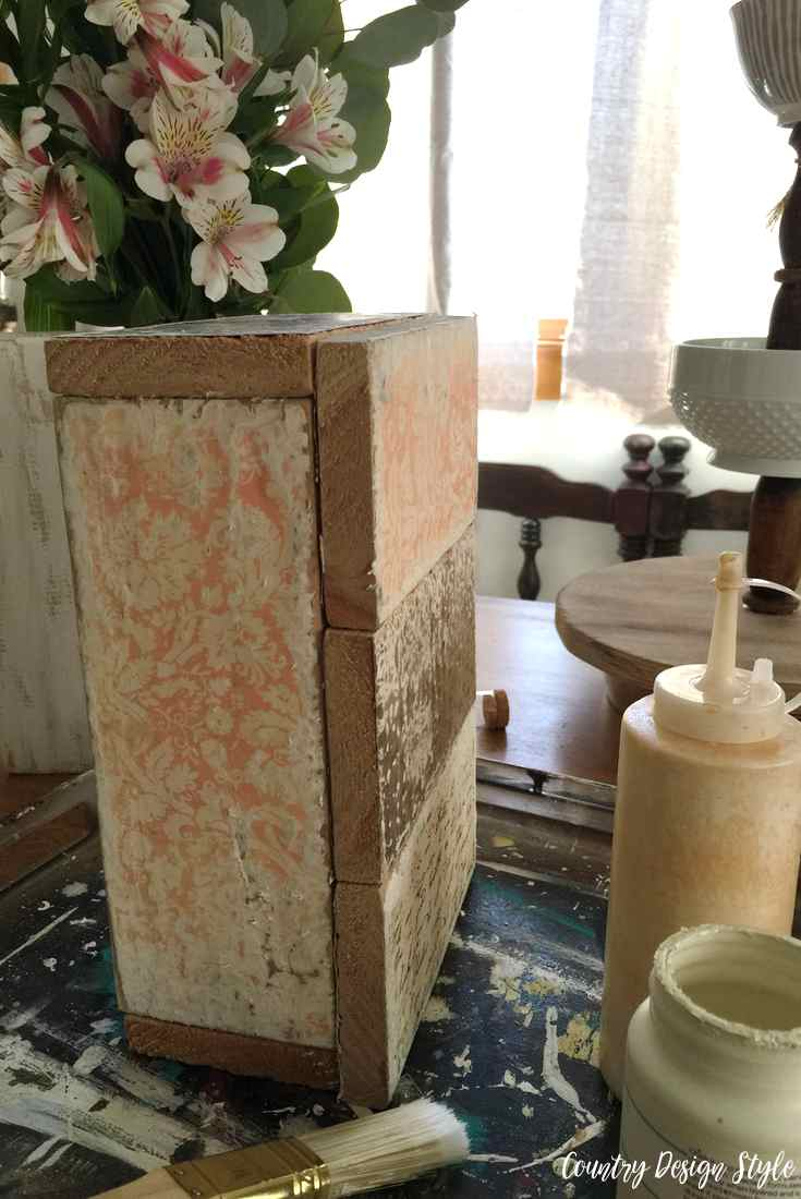How to create a box glued | Country Design Style | countrydesignstyle.com