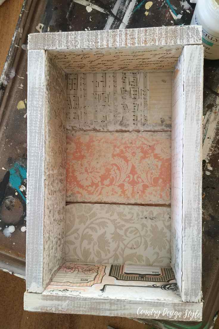 How to create a box top or side | Country Design Style | countrydesignstyle.com