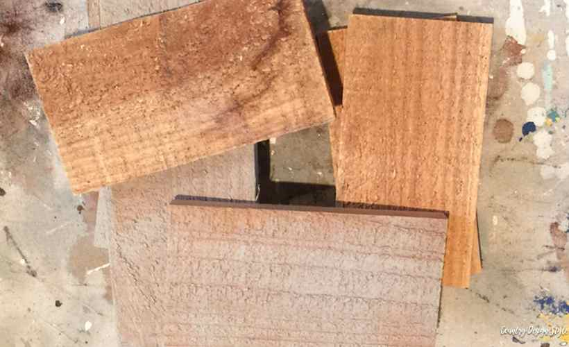 How to create a box wood | Country Design Style | countrydesignstyle.com