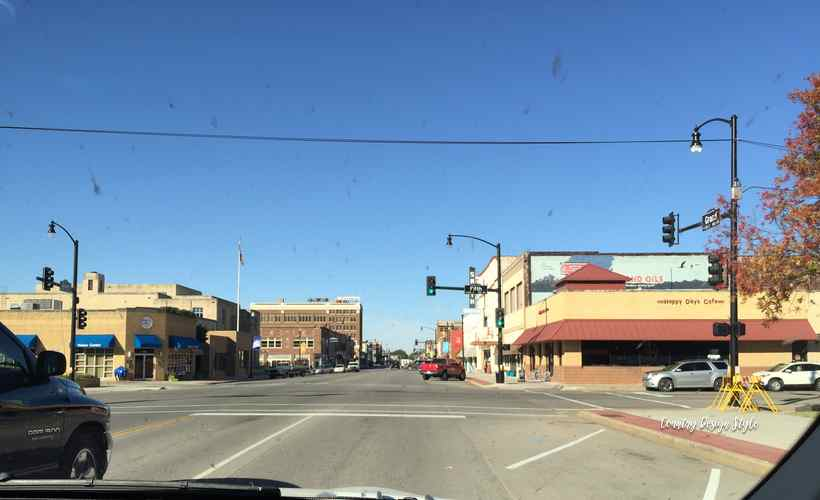 Road trip through a dirty windshield downtown | Country Design Style | countrydesignstyle.com
