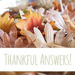 Thankful answers | Country Design Style | countrydesignstyle.com