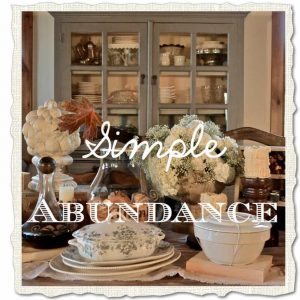 simple abundance | Country Design Style | countrydesignstyle.com