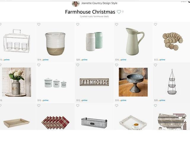 Farmhouse Christmas under 20 | Country Design Style | countrydesignstyle.com