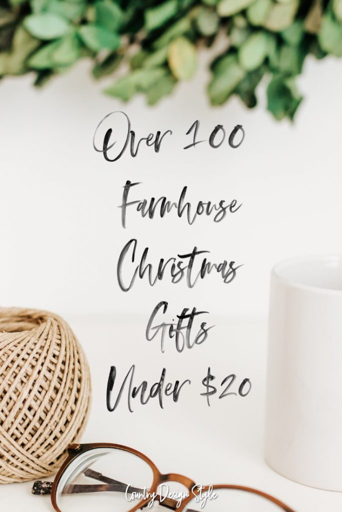 Farmhouse gifts under 100