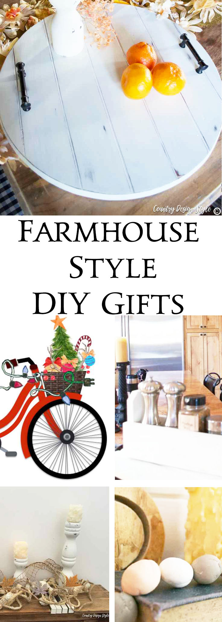 farmhouse DIY gifts | Country Design Style | countrydesignstyle.com