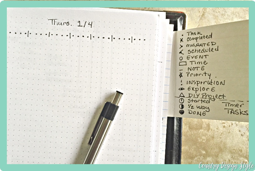 Best bullet journal ideas 4 | Country Design Style | countrydesignstyle.com