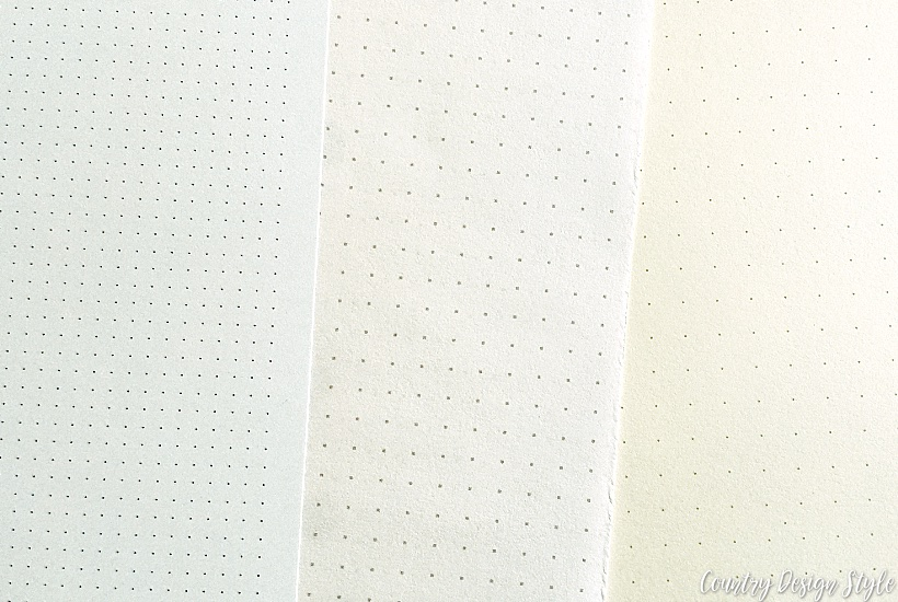Best bullet journal ideas dots | Country Design Style | countrydesignstyle.com