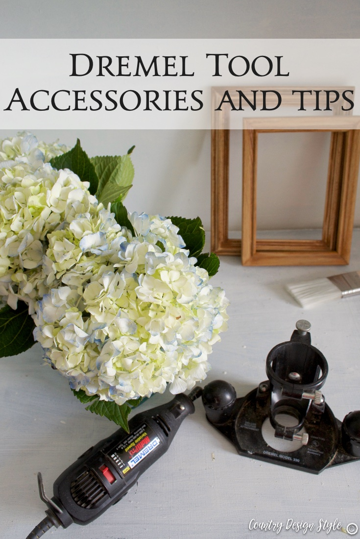 Dremel tool accessories and tips PN 2 | Country Design Style | countrydesignstyle.com