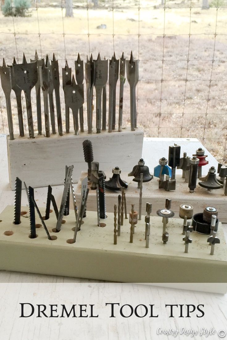 Dremel tool accessories and tips PN 3 | Country Design Style | countrydesignstyle.com