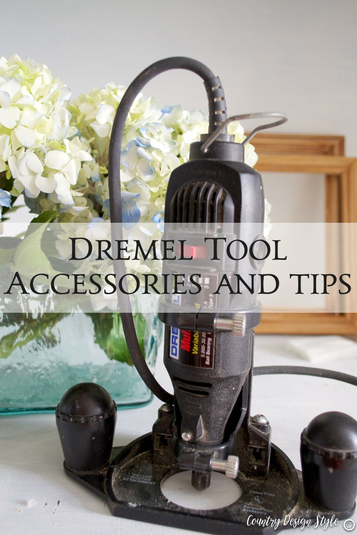 Dremel tool accessories and tips PN | Country Design Style | countrydesignstyle.com