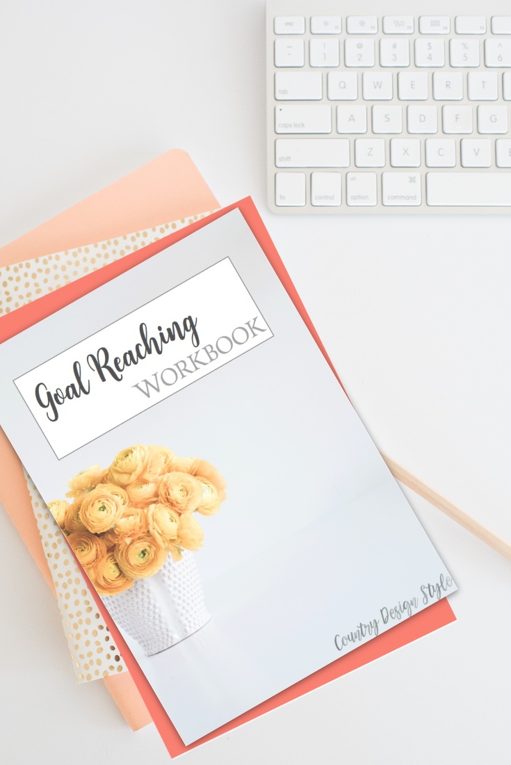 Goal Planner and Reaching Workbook pn | Country Design Style | countrydesignstyle.com