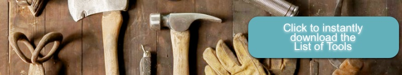 List of tools cupg | Country Design Style | countrydesignstyle.com