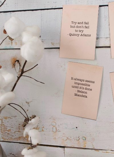 Funny, inspiring, quirky new monthly quotes
