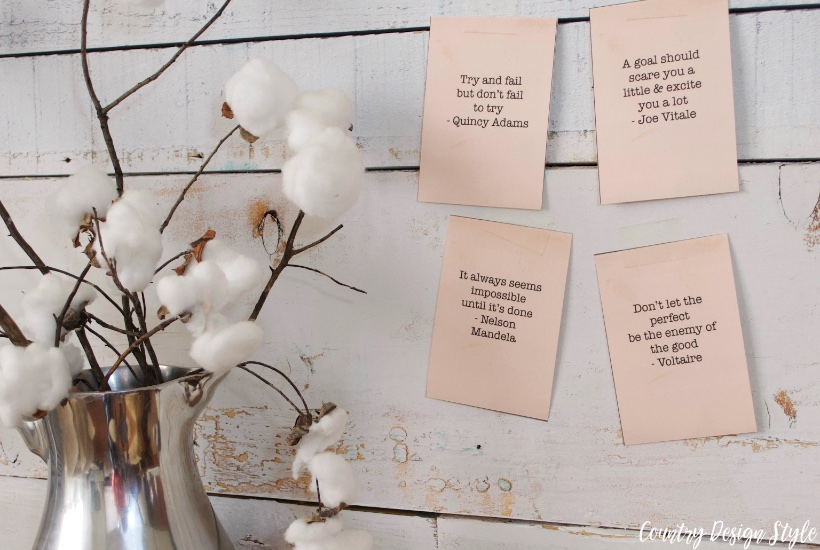 New Monthly Quotes 1p | Country Design Style | countrydesignstyle.com