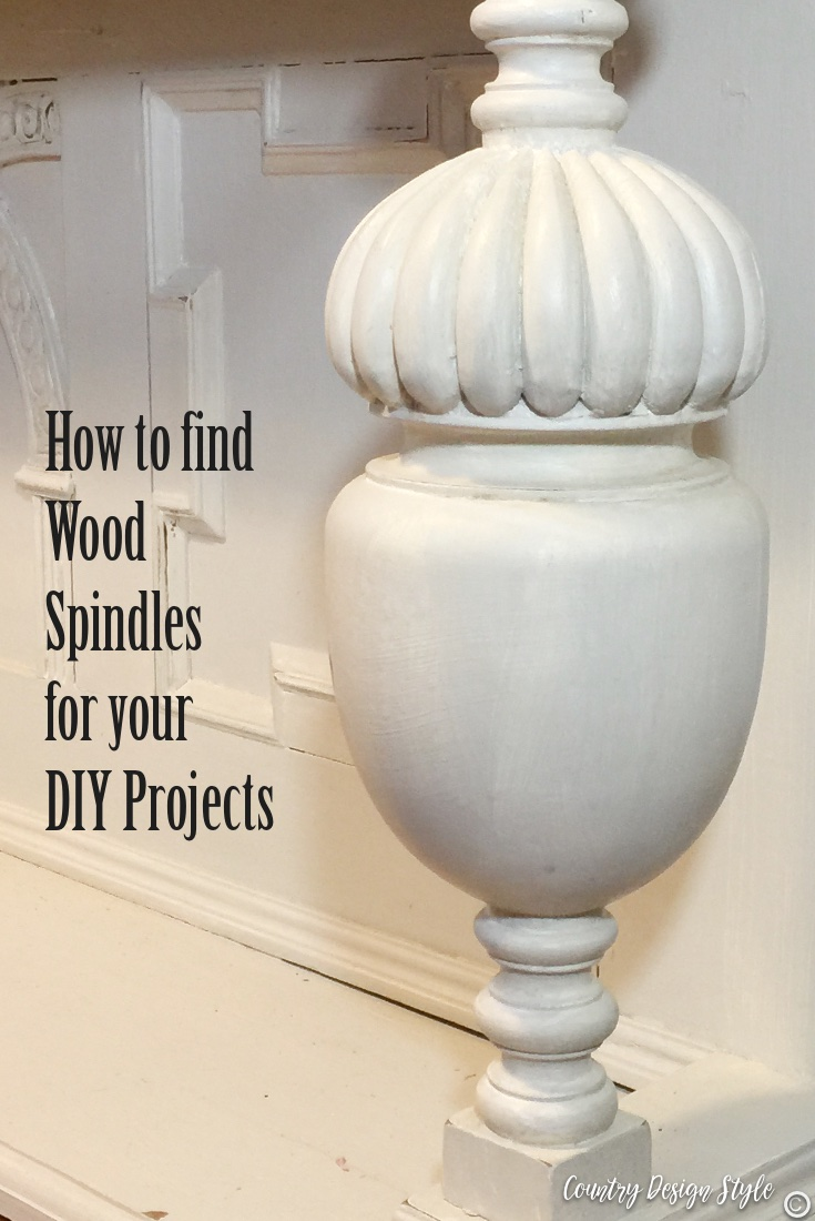 How to find wood spindles in furniture