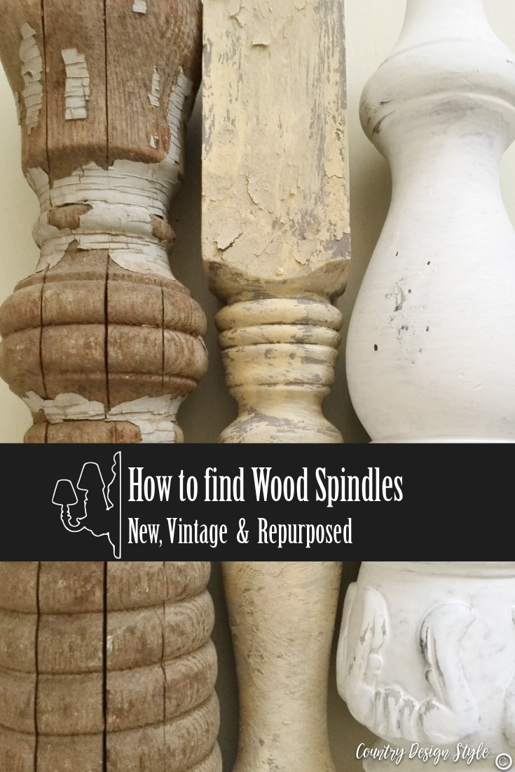 Finding wood spindles in stores