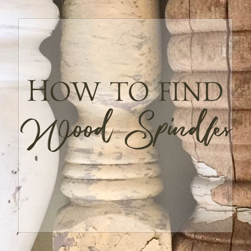 How to find wood spindles and how to look