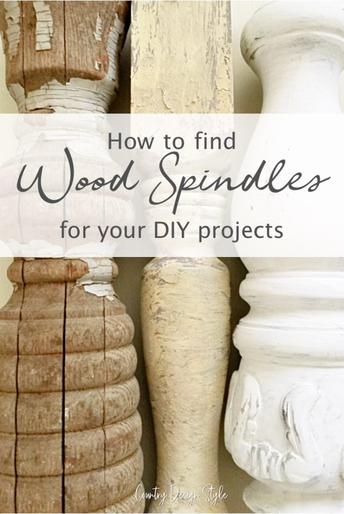 find wood spindles