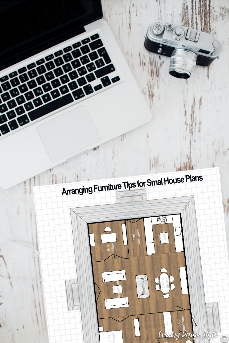 Arranging Furniture Tips for small house plans