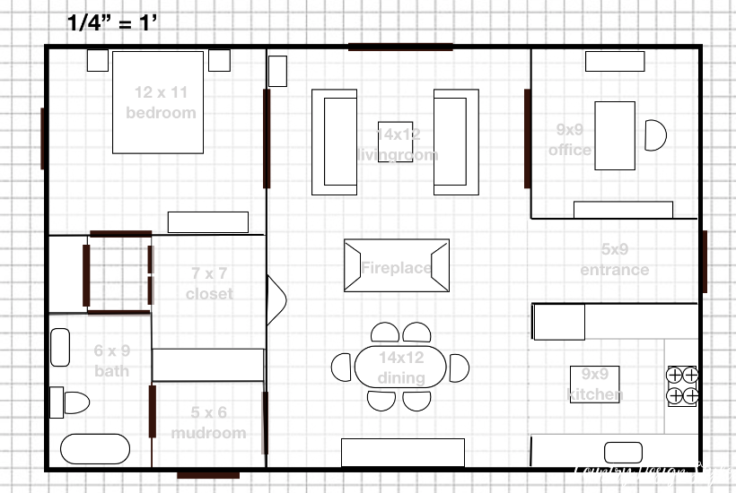 My small house plans I dream.