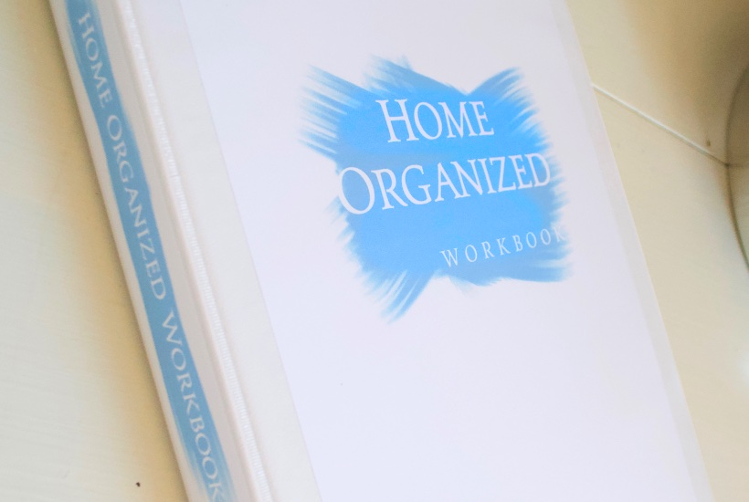 Home Organized Workbook