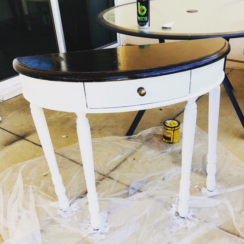 Jessica table painted