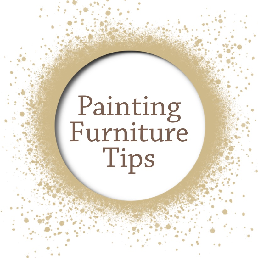 Painting furniture tips