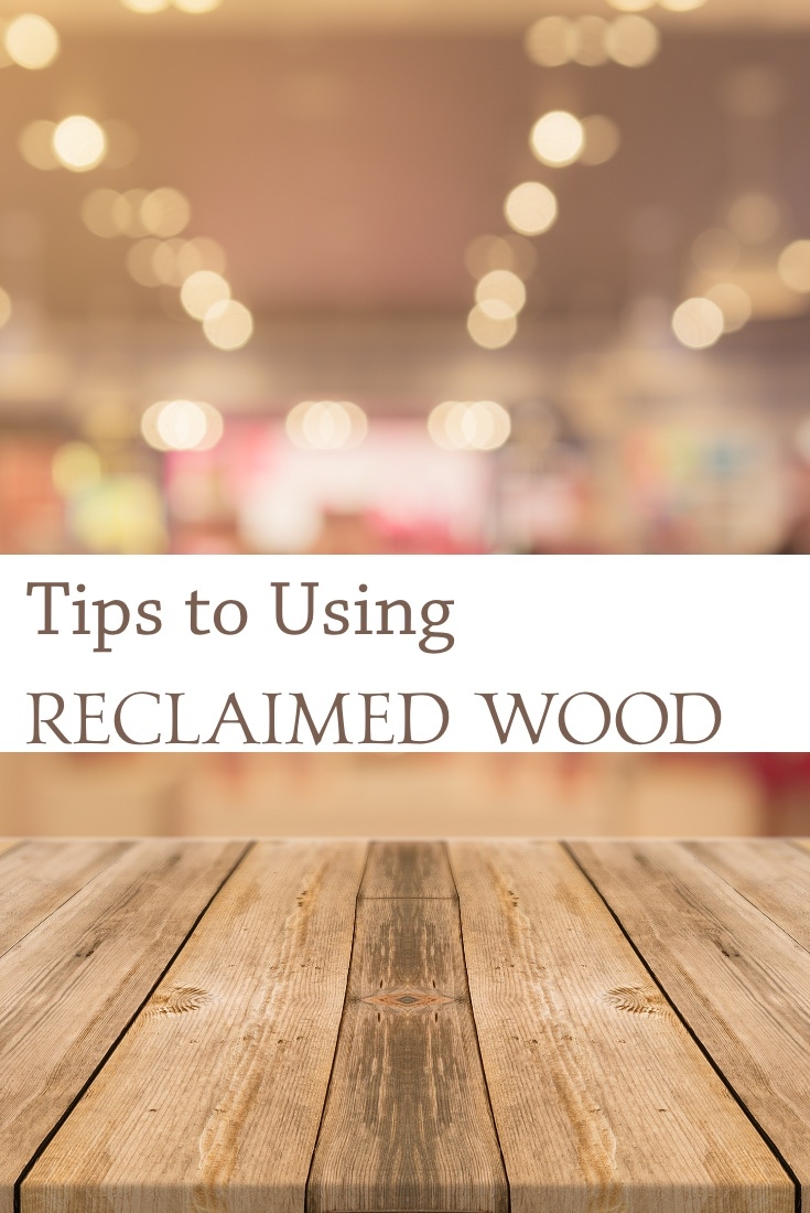 Ideas to use reclaimed wood