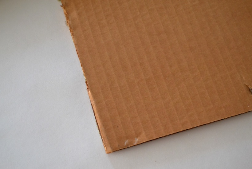 Cardboard for frame