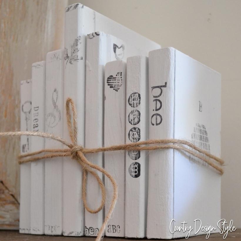 Thrift store wood books updated