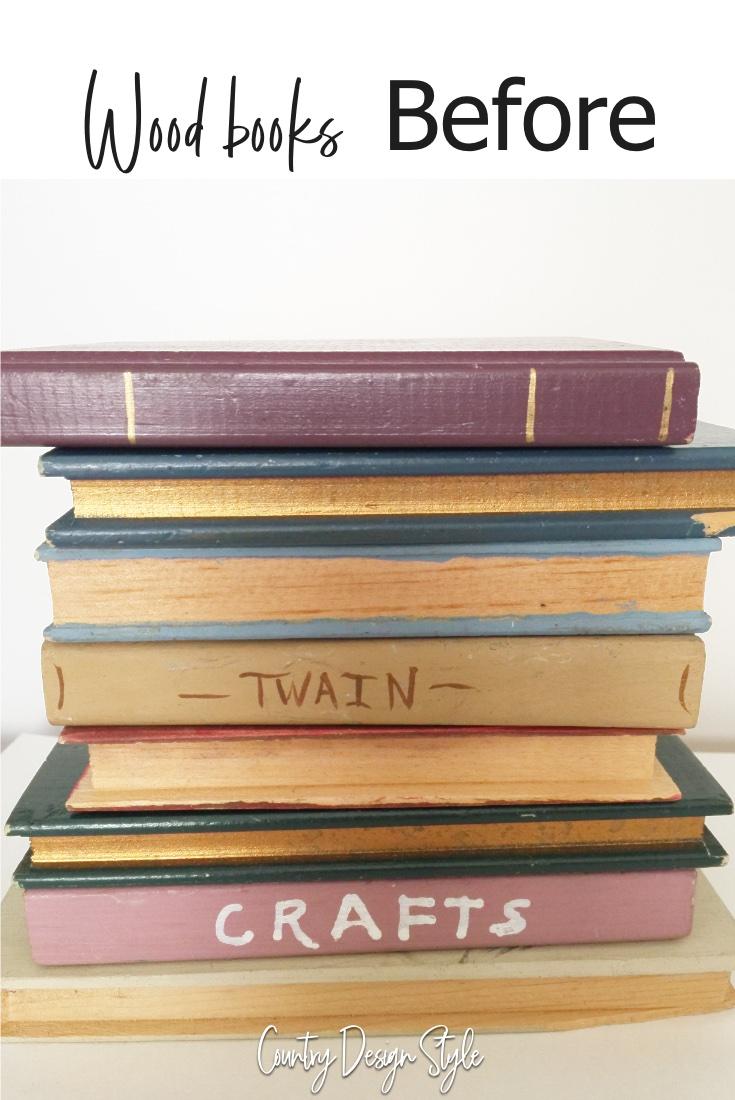 wood books before