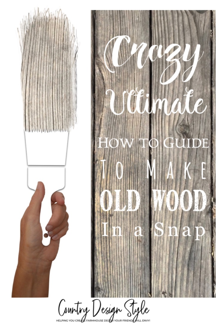 Crazy Ultimate How to Guide to make old wood in a snap Cover Pin