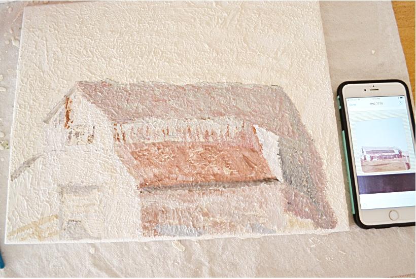 Barn Painting Im no artist