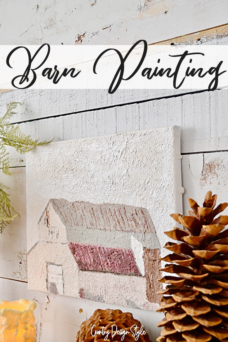 Barn Painting when you are not an artist