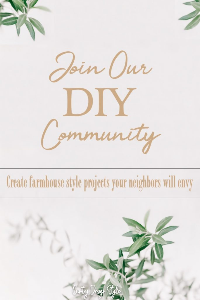 Join our DIY community