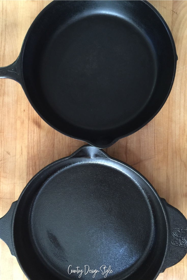 New vx old cast iron